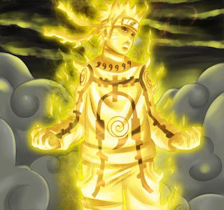 naruto new seal full control kyubi power wallpaper