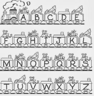 учим английские буквы по картинкам
