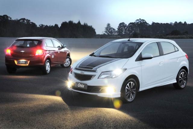 Chevrolet Onix - kit de personalização