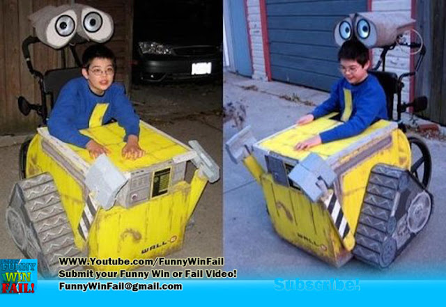 Win! Wall-e Wheelchair Halloween Costume