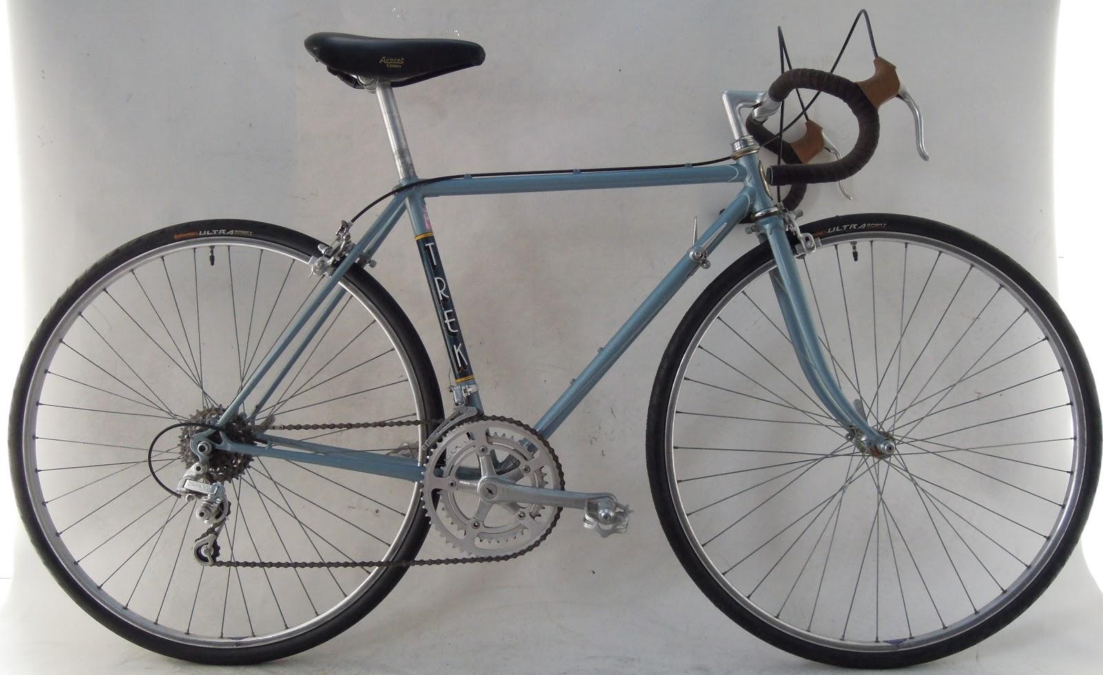 Frame And Wheel Selling Services Vintage 1982 Trek 412 19