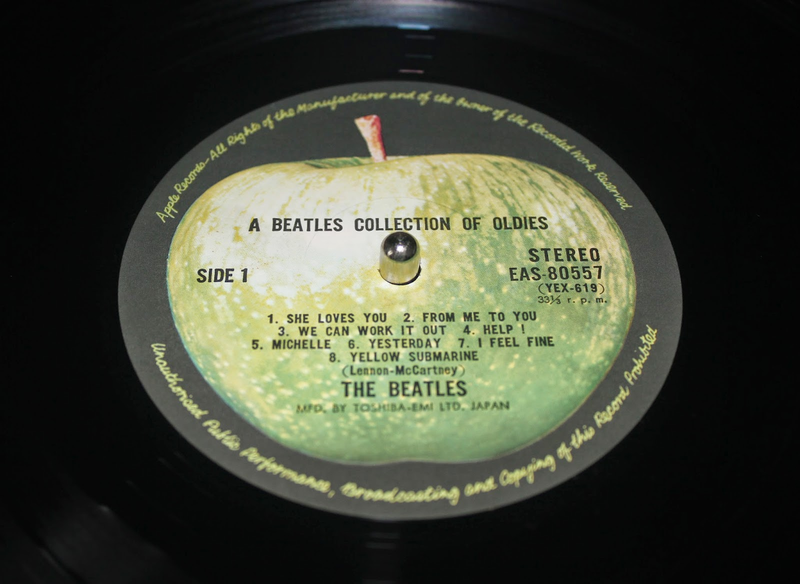 THE BEATLES  A Collection Of Beatles Oldies