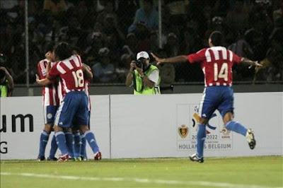 Paraguay vs Ecuador