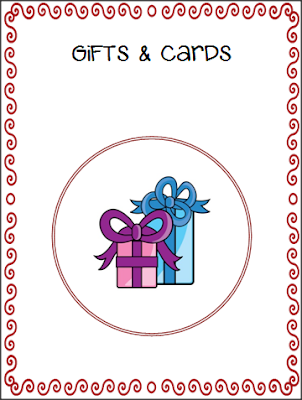 Gifts & Cards Tab