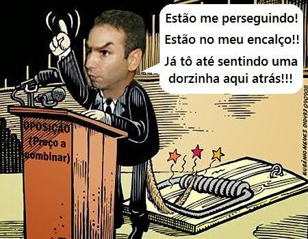 Vereador Eduardo Sá distribui calúnias e mentiras na câmara