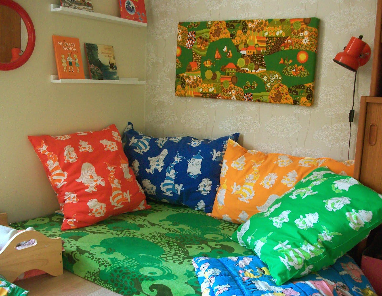 Vardagsrum Retro : Onni retro amp rariteter färgklick i vardagsrummet