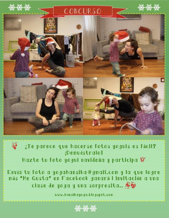 """Concurso """"Fotos de tu Navidad yogui 2014"""""""