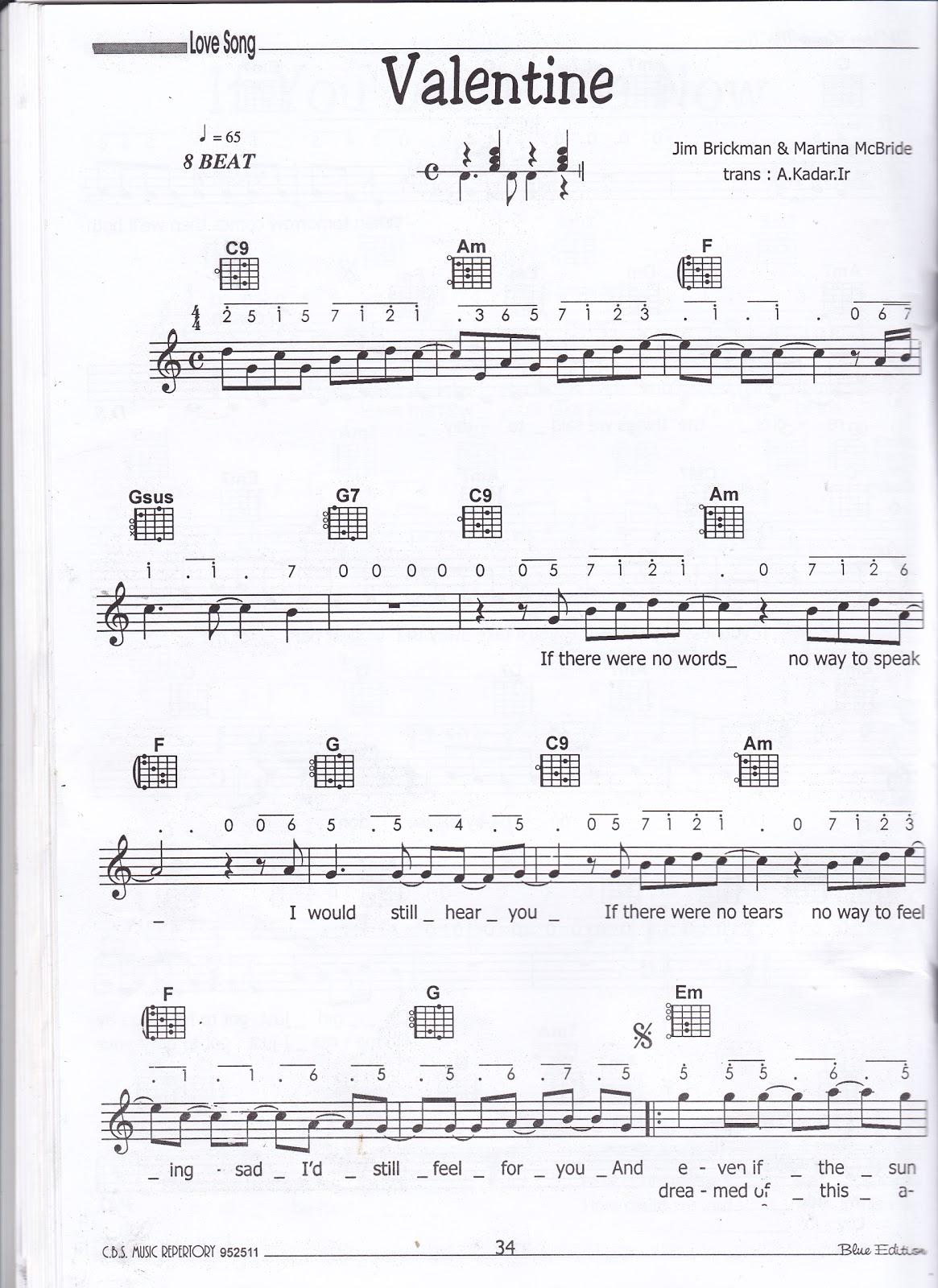 Piano ungu chord piano valentine jim brickman martina mcbride chord piano valentine jim brickman martina mcbride hexwebz Images