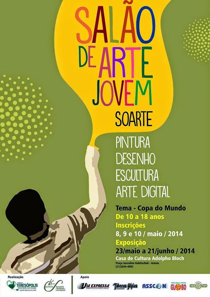 Sociedade dos Artistas de Teresópolis - Soarte promoverá 1º Salão Nacional de Arte Jovem em Teresópolis