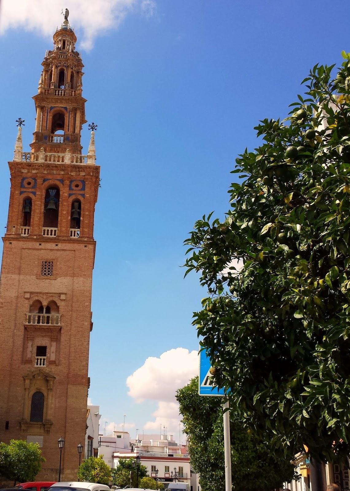 Tower of Carmona  |  Postcard from Andalucía: Jerez + Carmona  on afeathery*nest  |  http://afeatherynest.com