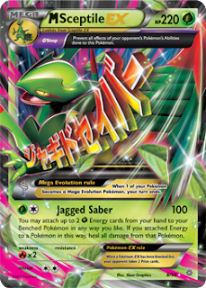 M Sceptile EX Ancient Origins