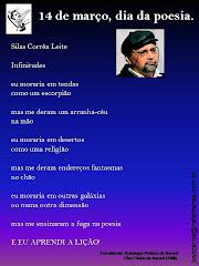 Poster-Poema Silas Correa Leite