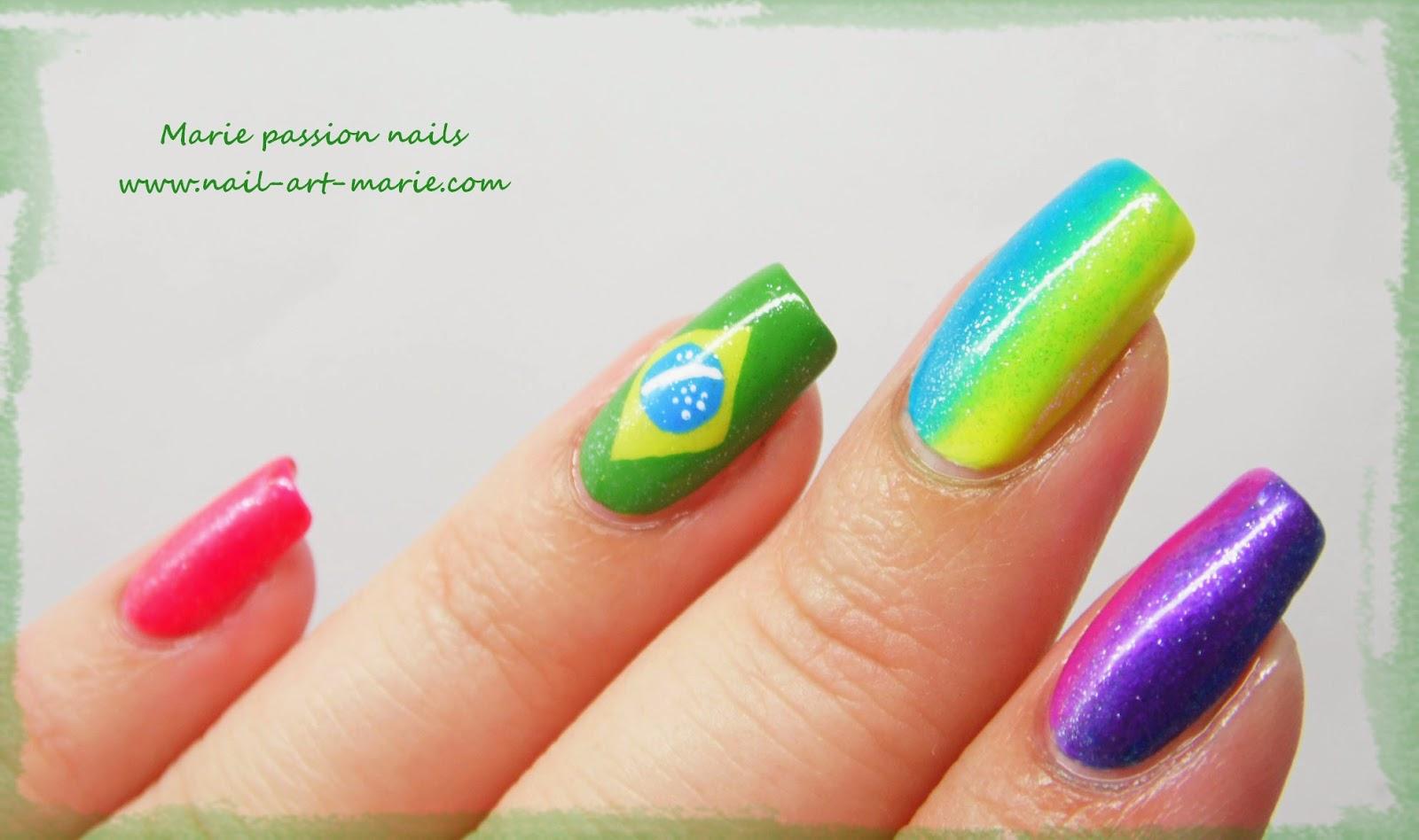 nail art Brésil3