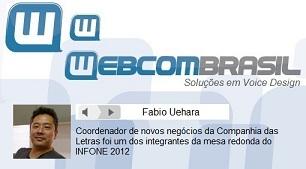 Webcombrasil Fabio Uehara