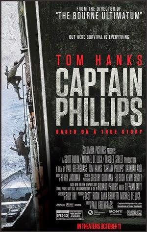 Afiche de Capitán Philllips