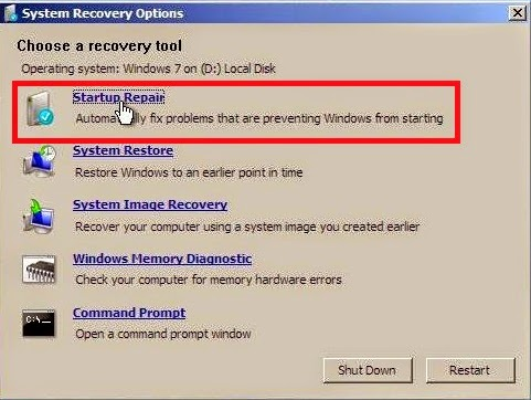 Cara Mengatasi Gagal Booting Pada Windows 7