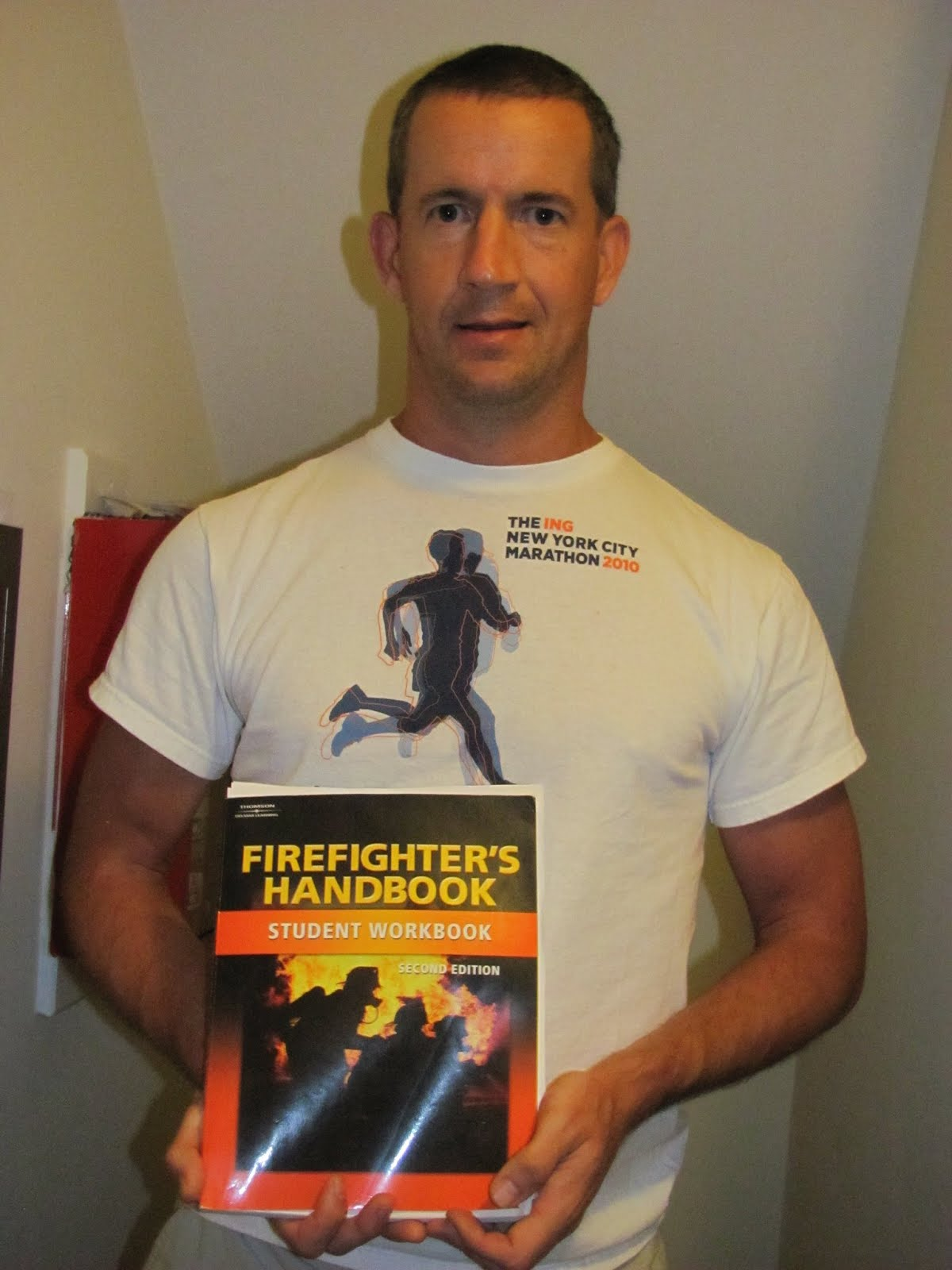 As a probationary in 2011 as had to learn The Firefighter's Handbook