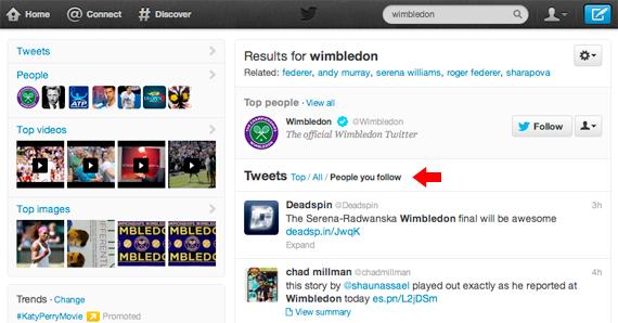 Noul filtru de cautare pe Twitter este util in filtrarea fluxului personal de stiri
