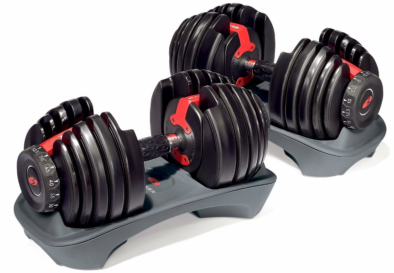 Bowflex SelectTech 552 Adjustable Dumbbells Image