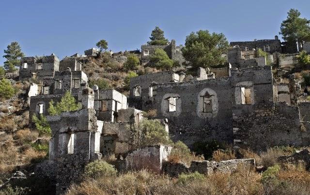 10 lugares abandonados.