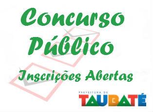 Concurso Público de Taubaté 2015