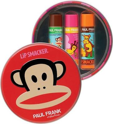 Bonne Bell, Bonne Bell Lip Smackers, Bonne Bell Paul Frank Lip Smacker This Just Tin Lip Gloss Collection, Bonne Bell lip balm, Paul Frank, lips, balm, lip balm, gift set