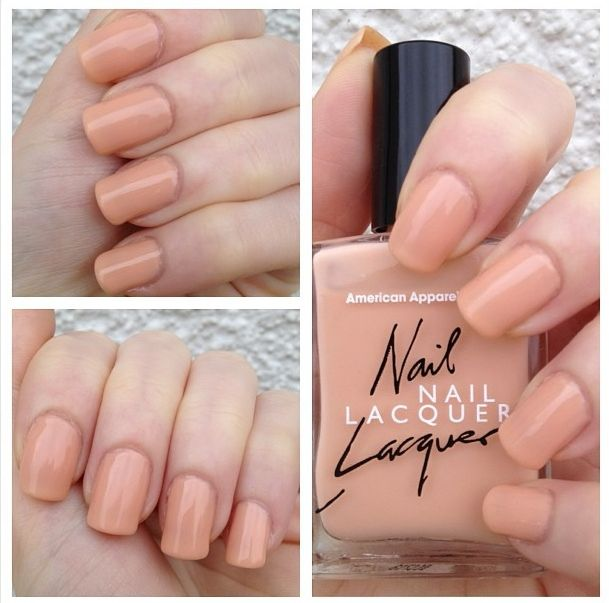 cat eyes & skinny jeans: NOTD: American Apparel Nail Lacquer Dance