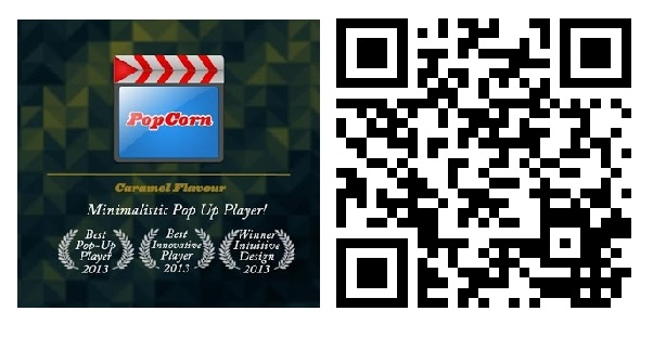 [Exclusividade] Download PopCorn Player v2.0 - Vídeo Player Pop-Up