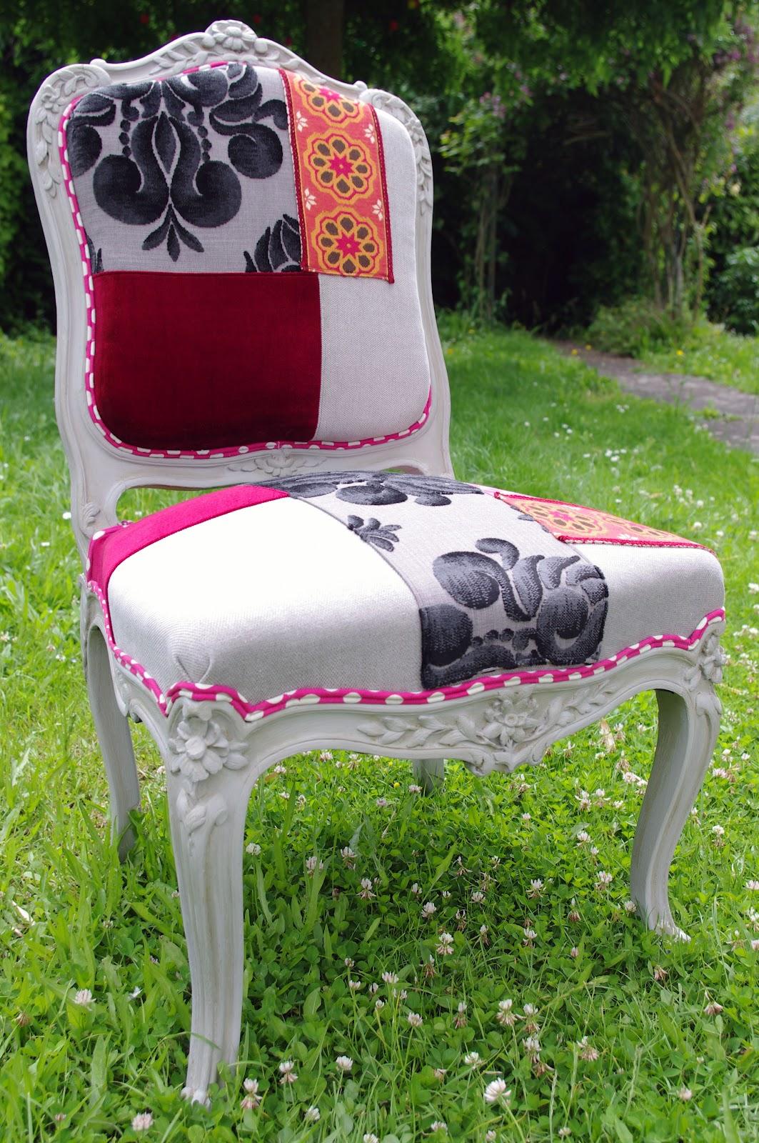 Chaise louis xv boh me l 39 abracadabroc for Restaurer une chaise ancienne