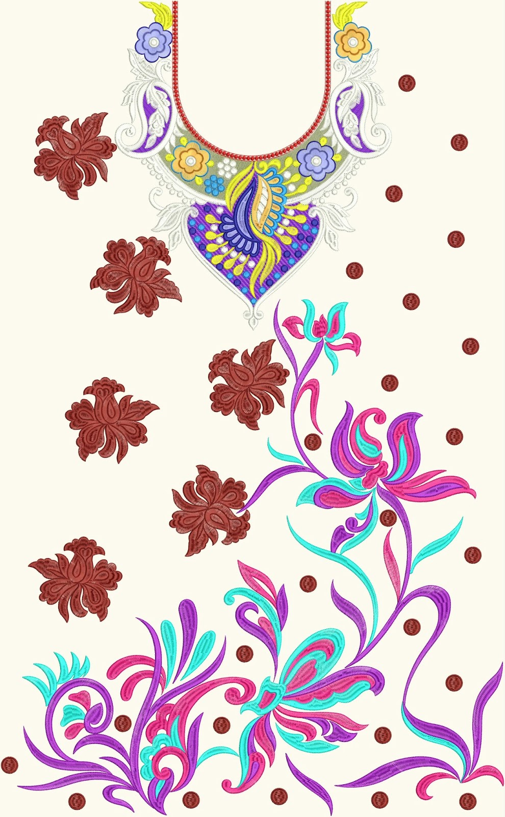 Latest embroidery designs for neck makaroka embdesigntube hot week39s latest embroidery designs bankloansurffo Gallery