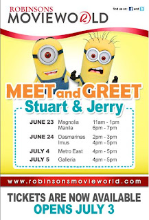 Despicable Me Meet & Greet Robinsons