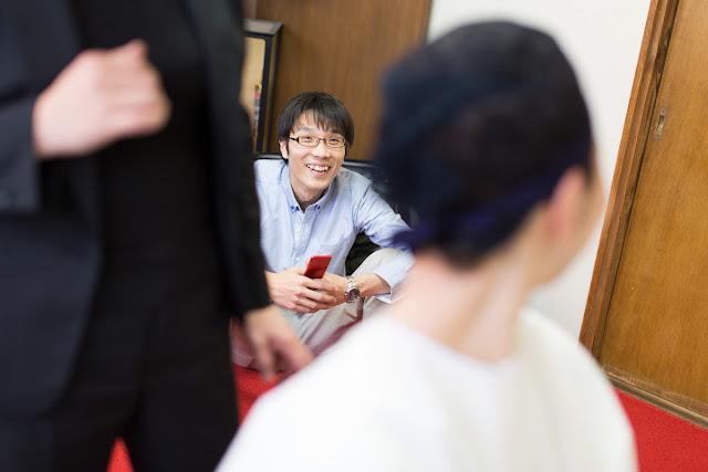 赤坂氷川神社での結婚式|準備編2|結婚式カメラマン斉藤幸城