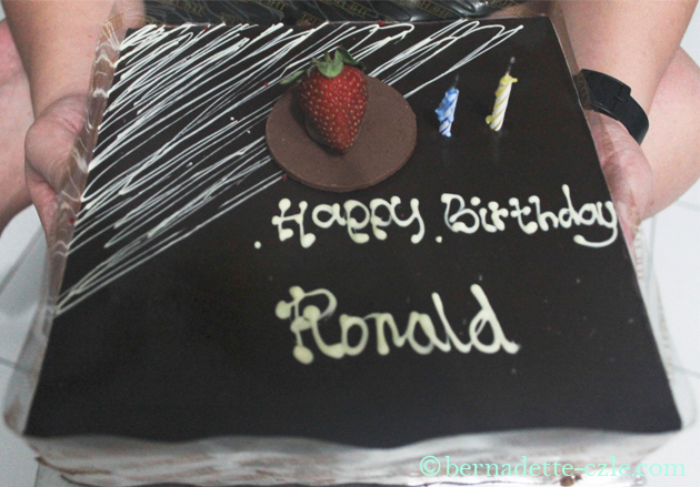 Birthday Cake For Ronald : Style Before Dawn: RON S 26TH BIRTHDAY
