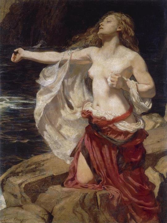 Herbert James Draper 1863-1920 |  British Classicist painter