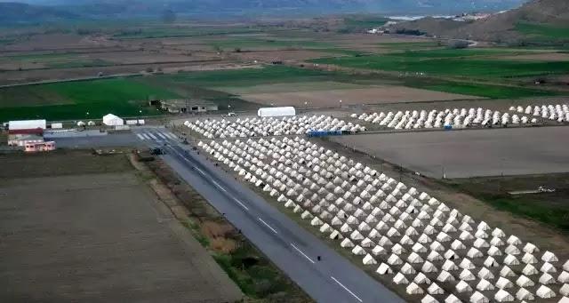 """Μετέτρεψαν το αεροδρόμιο του Κιλκίς σε """"hot spot""""! Ανυπολόγιστες καταστροφές από λαθρομετανάστες και «αλληλέγγυους»"""