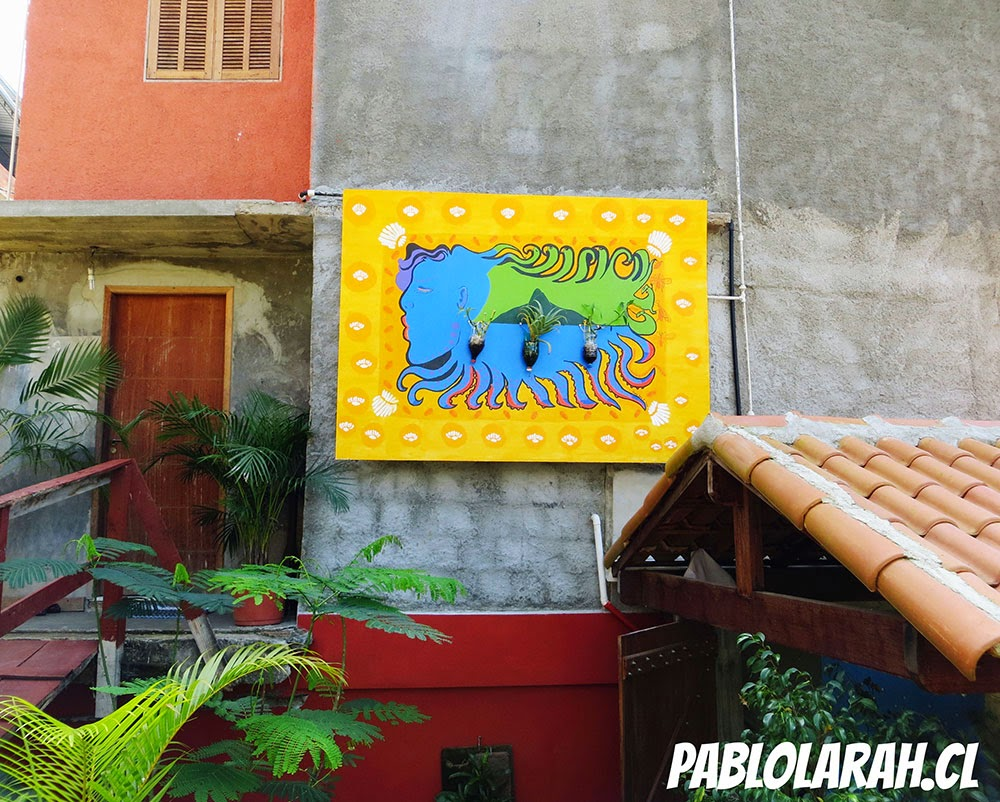 Museu de Favela (MUF), Cantagalo, Rio de Janeiro, and Emily Carr University of Art and Design (ECUAD), Vancouver, British Columbia, Canada, are working as partners in the creation of Green Walls Favela Art. Pablo Lara Henriquez