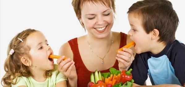 Cara ampuh jitu dan mujarab agar anak mau makan sayuran dan buah agar gizi anak seimbang
