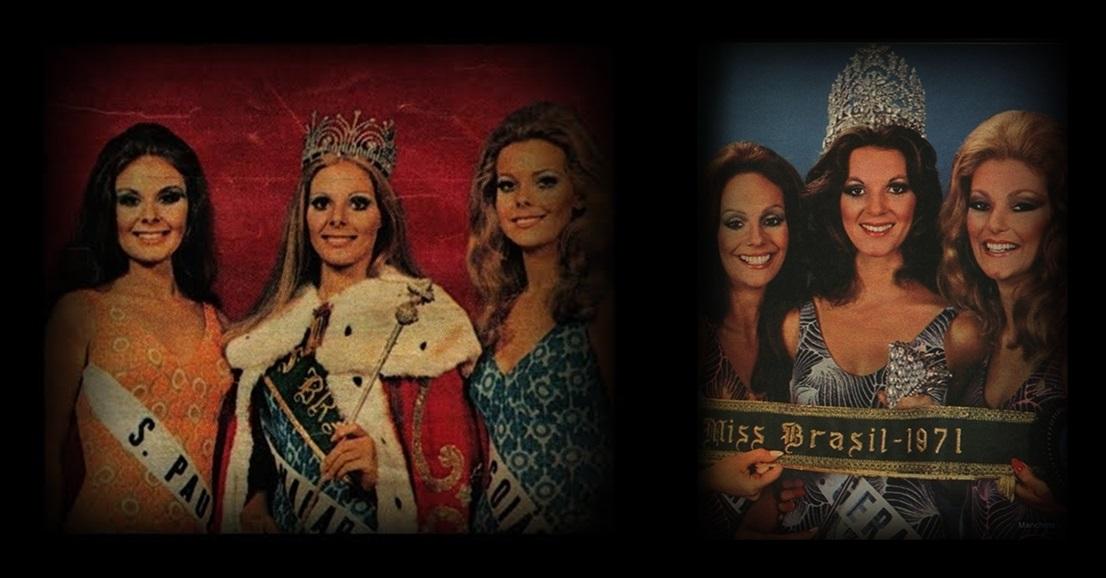 MISSES UNIVERSO BRASIL TOP TRES 1970 E 1971