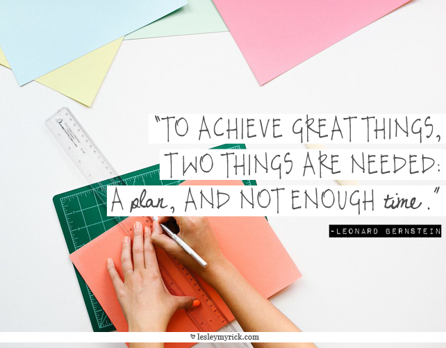 """""""To achieve great things, two things are needed; a plan, and not quite enough time."""" Leonard Bernstein. #inspiring #quote #inspiringquote #productivity"""