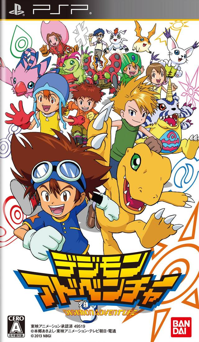 Sobre o jogo Digimon Adventure PsP Digimon+Adventure