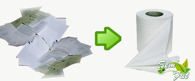 Transformando papel de oficina en papel higi nico for Papel para oficina