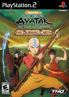 download game AVATAR THE BURNING EARTH [U] PS2 ISO