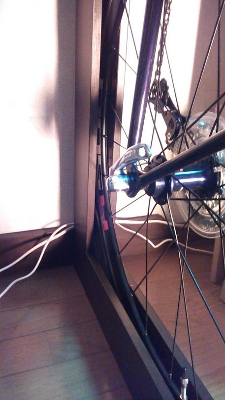 自転車の縦置きスタンド自作 ...