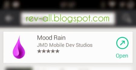 Ikon Mood Rain - aplikasi android suara hujan dan guntur gratis (rev-all.blogspot.com)