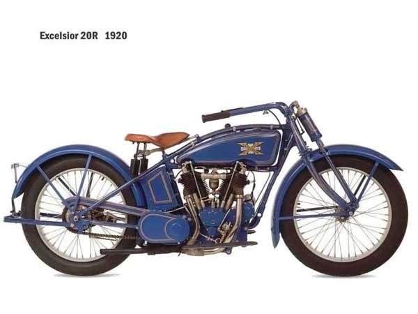 Vintage Harley Motorcycle 99