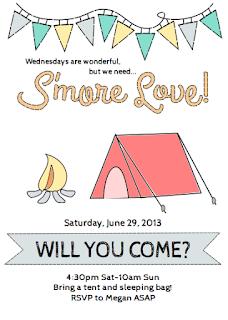 camping invitations