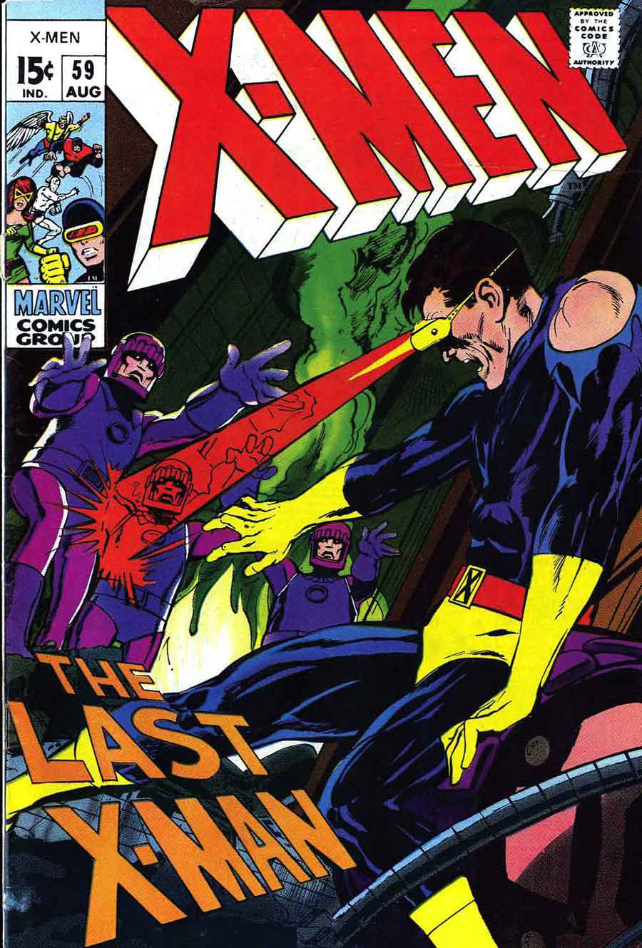 Marvel Comic Book Cover Art : X men neal adams art cover top pencil ink