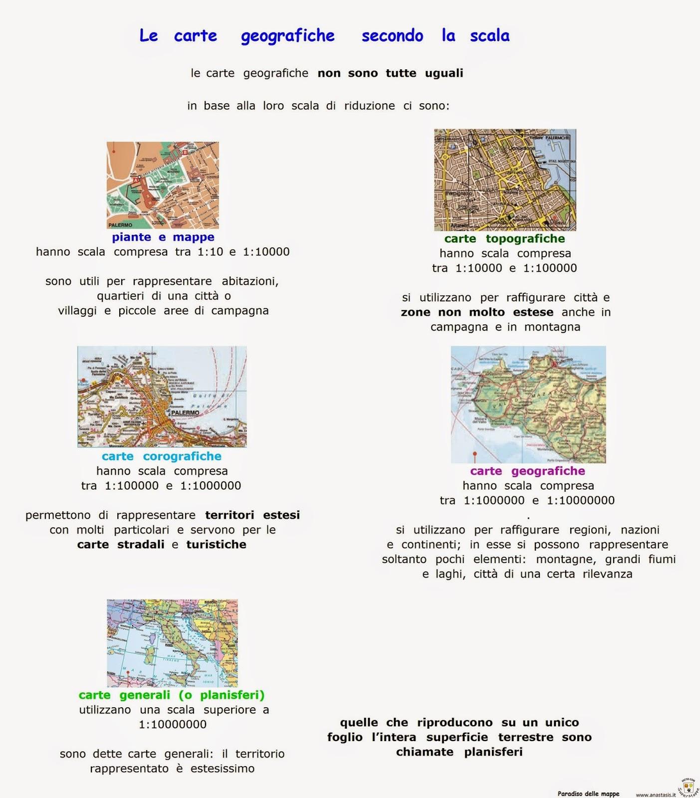 Paradiso Delle Mappe Le Carte Geografiche Secondo La Scale