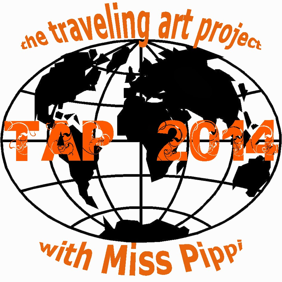 http://thetroddenpath.ning.com/group/t-a-p-2014-the-traveling-art-project