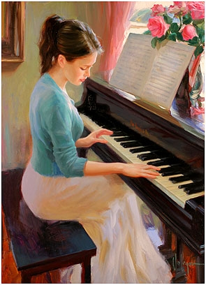 Familiar Melody by Vladimir Volegov